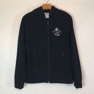 Disneyland Resort Fleece Full Zip Hooded Jacket